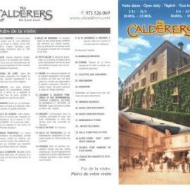 visite à Calderers web