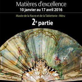 L'éventail matières d'excellence – Musée de la Nacre